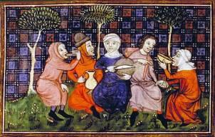 Livre du roi Modus et de la reine Ratio, XIVe siècle.jpg
