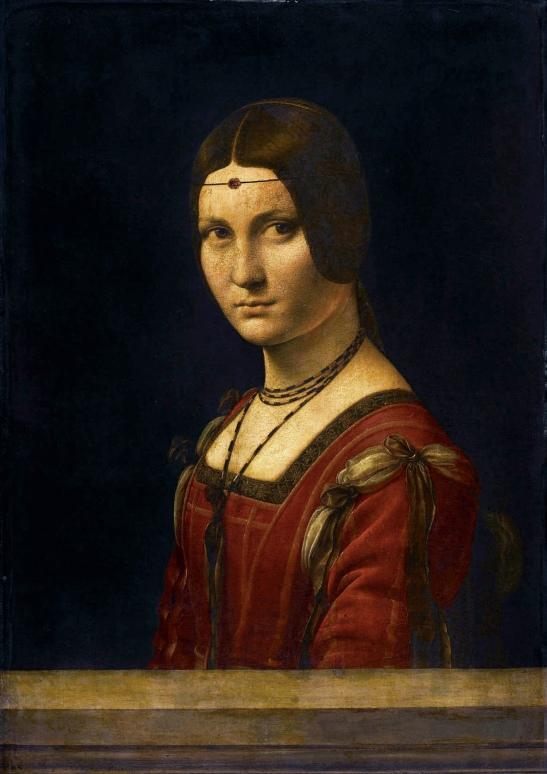 De Vinci, La Belle Ferronière