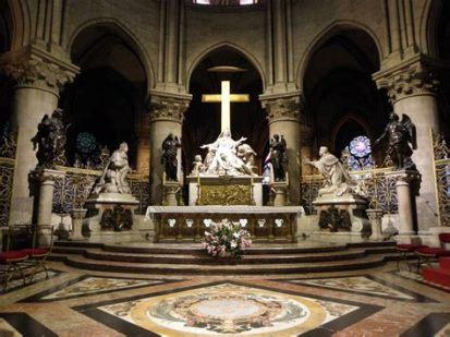 Autel cathédrale Paris