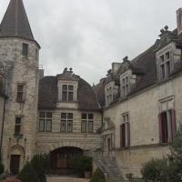 Au coin du feu dans le Château de Lauzun