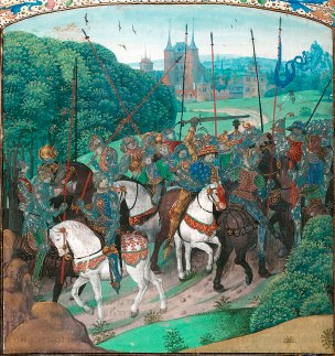 Folie de Charles VI, Jean Froissart.jpg