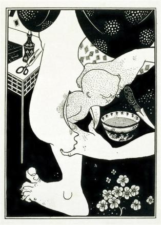 Série de deux planches. Illustration de L'Histoire véritable de Lucien de Samosate 2