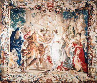 Peemans, GerardVan Egmont, Justus, Mariage Zénobie et Odenath, bissorbonne