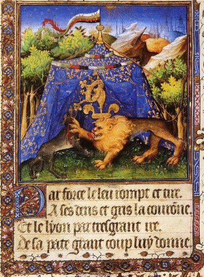 Enluminure d'inspiration bourguignonne, XVe siècle, Vienne, Bibliothèque nationale autrichienne..jpg