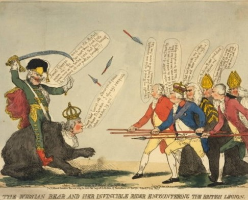 British Cartoon Prints Collection Library of Congress, Potemkin sur Catherine contre George III.jpg