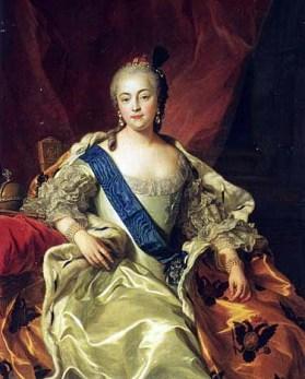 Elisabéth la Clémente, portrait de Van Loo, 1760.jpg