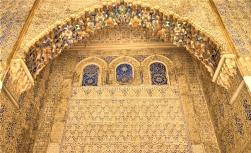 Détail du Palais de l'Alcazar (Séville)