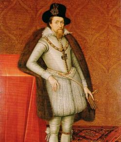 Jacques VI et Ier, par John de Critz (vers 1606