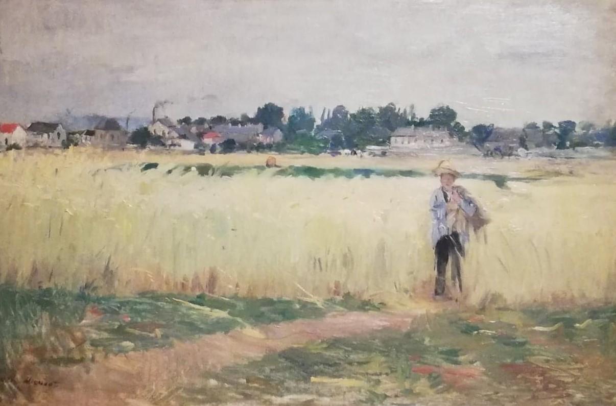 Morisot Article, Dans les champs de blé à Gennevilliers 1875 é.jpg