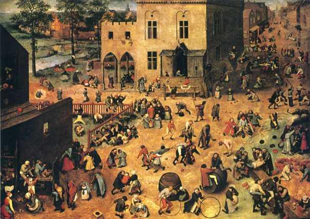 Bruegel - Jeux d'enfants