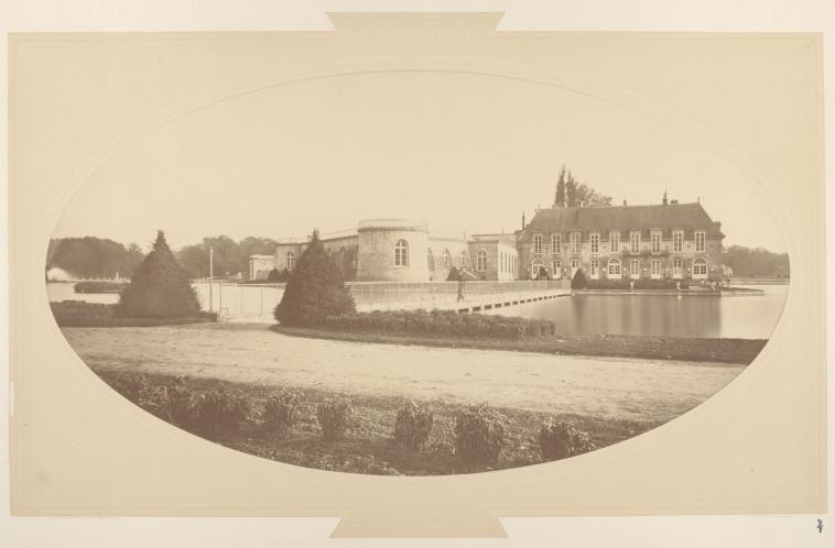 Château de Chantilly avant reconstruction