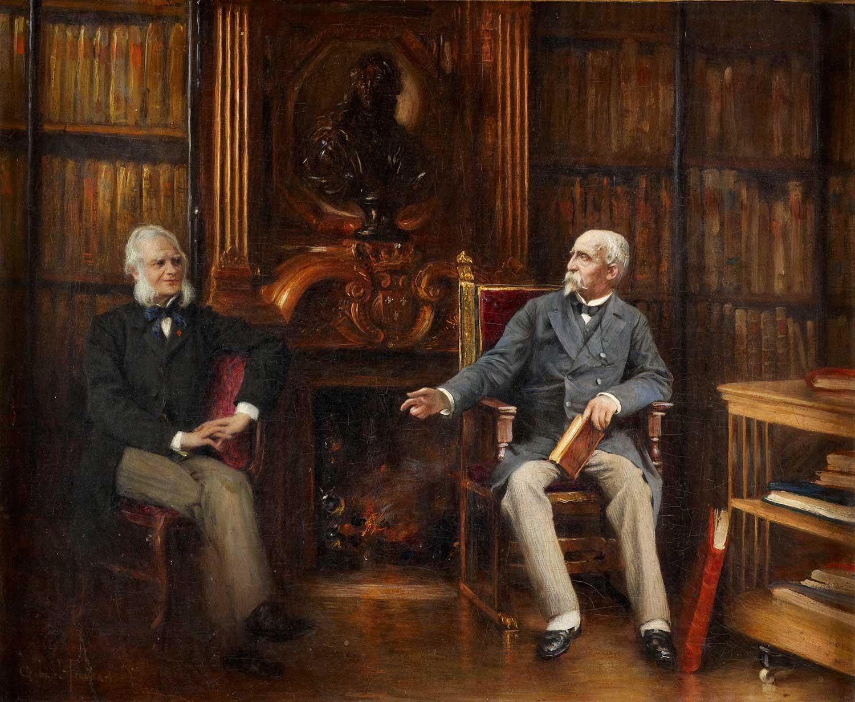 Le duc d'Aumale et son précepteur et ami