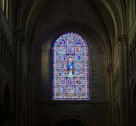 vitrail cathédrale du Mans